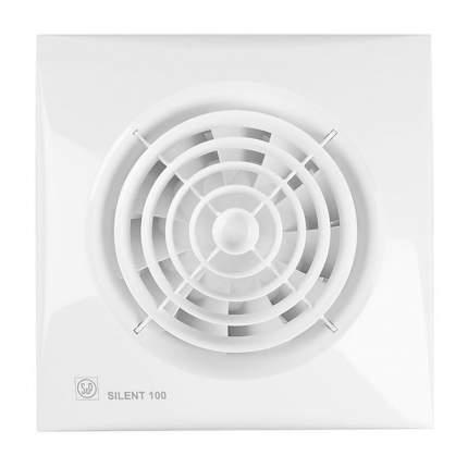 Вытяжной вентилятор Soler & Palau Silent-100 CZ (белый) 03-0103-106