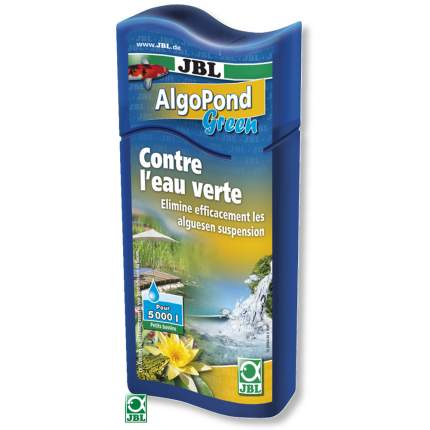 Средство для борьбы с водорослями в пруду JBL AlgoPond Green 250 мл