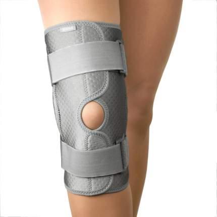 Бандаж ортопедический B.Well W-3320, коленный серый