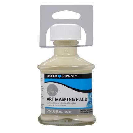 Маскирующая жидкость для красок Art Masking Fluid Daler Rowney 75 мл