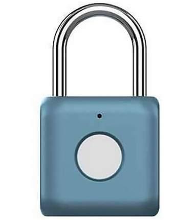 Навесной замок с отпечатком пальца Xiaomi Smart Fingerprint Lock Padlock YD-K1 Blue