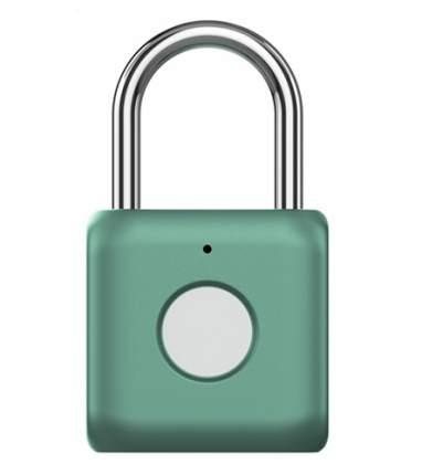 Навесной замок с отпечатком пальца Xiaomi Smart Fingerprint Lock Padlock YD-K1 Green