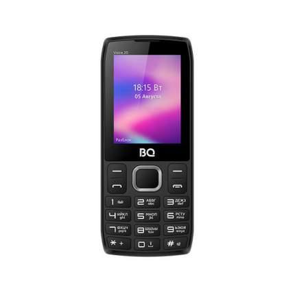 Мобильный телефон BQ 2400L Voice 20 Black/Blue