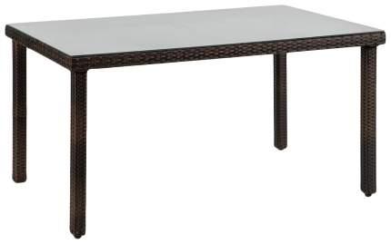 Стол для дачи Hoff Haiti 80272925 brown 150x90x74 см