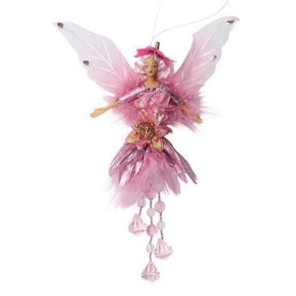 Фигура новогодняя Snowmen Е92162 Розовый