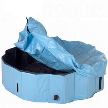 Бассейн для собак TRIXIE Dog Pool, сине-голубой, 160х160х30 см