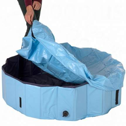 Крышка для бассейна для собак TRIXIE, светло-голубая, диаметр 160см
