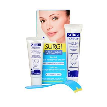 Набор для удаления волос Surgi, Cream Facial Hair Removal