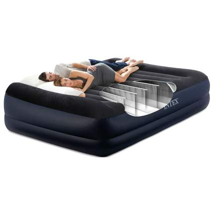 Надувной матрас Intex 64124 Pillow Rest Raised Bed 203 х 152 х 42 см