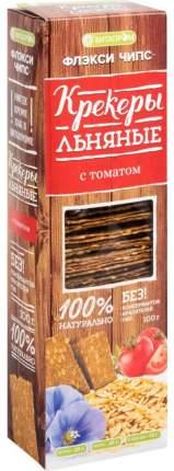 Крекеры льняные Витапром флекси чипс томат 100 г