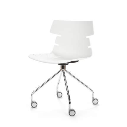 Офисный стул Cosmo Return, серебристый/белый