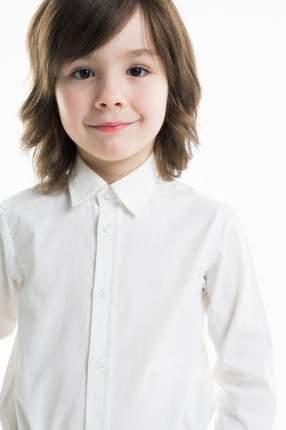 Сорочка для мальчика Brums, цв.белый, р-р 104