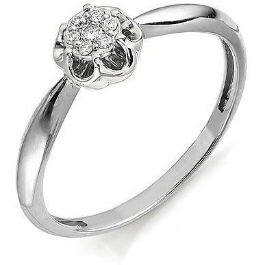 Кольцо женское Алькор 11055-200 р.17.5