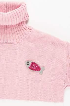 Свитер для девочки Button Blue, цв.розовый, р-р 110
