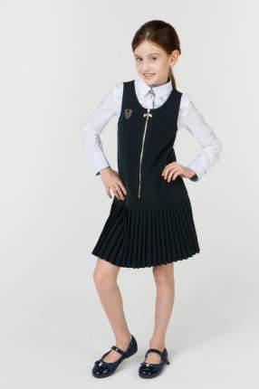 Сарафан для девочки Маленькая Леди, цв.зеленый, р-р 122