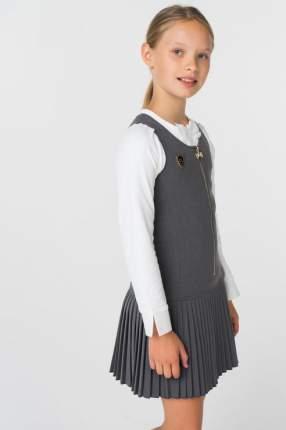 Сарафан для девочки Маленькая Леди, цв.серый, р-р 158
