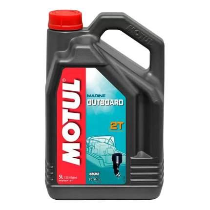 Моторное масло Motul Outboard 2T 5W-30 5л