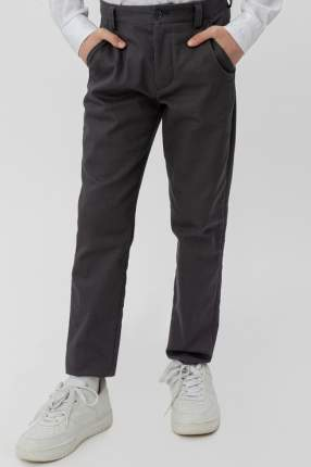 Классические брюки Button Blue 220BBBS63030100 цв.серый р.122