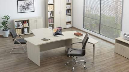 Компьютерный стол Pointex Grand POI_GRN30010102, дуб светлый