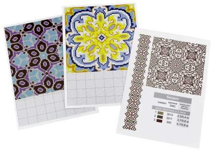 Книга Геометрические орнаменты, Набор карточек, Подробные схемы