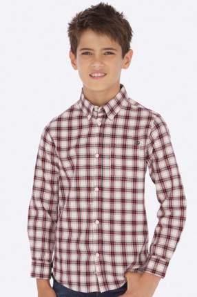 Рубашка для мальчика Mayoral, цв.красный, р-р 128