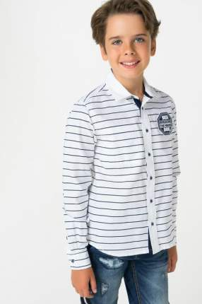 Рубашка для мальчика Gulliver, цв.белый, р-р 164