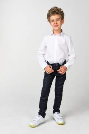 Рубашка для мальчика iDO, цв.белый, р-р 104
