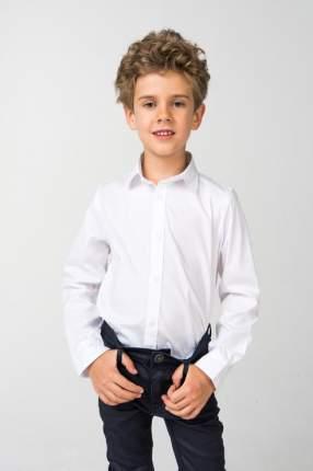 Рубашка для мальчика iDO, цв.белый, р-р 122