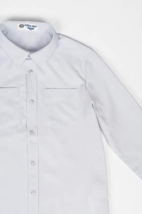 Рубашка для мальчика Button Blue, цв.белый, р-р 128