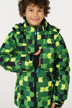Пуховик для мальчика KUOMA, цв.зеленый, р-р 152