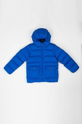 Пуховик для мальчика BAON, цв.голубой, р-р 146