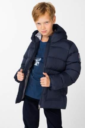 Пуховик для мальчика BAON, цв.синий, р-р 134
