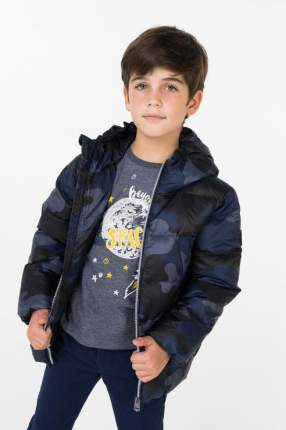 Пуховик для мальчика BAON, цв.синий, р-р 98