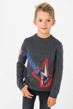 Пуловер для мальчика ZADIG & VOLTAIRE, цв.серый, р-р 138