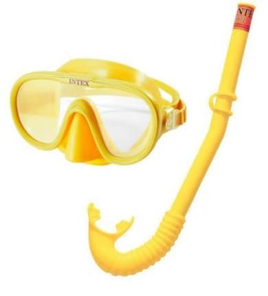 Маска для плавания Intex Искатель приключений yellow