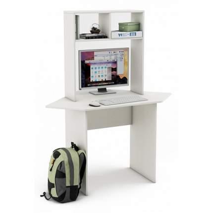 Компьютерный стол ВМФ Лайт СН MAS_USLT-SN-BEL, белый