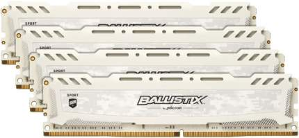 Оперативная память Crucial 64GB KIT (16GBX4) DDR4 3000 MT