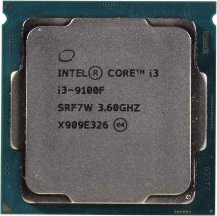 Процессор Intel I3-9100F BOX