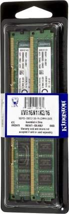 Оперативная память Kingston 16GB PC12800, 1600M