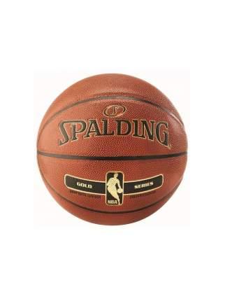Spalding Мяч б/б  NBA GOLD SER I/О, размер 7,полиуретан/76-014Z