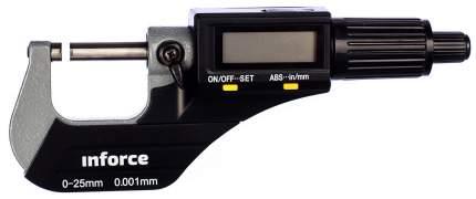 "Цифровой микрометр 0-25мм/0-1""*0.001мм/0.00005"" Inforce 06-11-44"