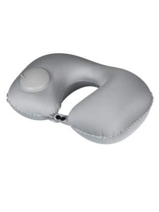 Надувная подушка NoBrand со встроенным насосом 5920859 серая