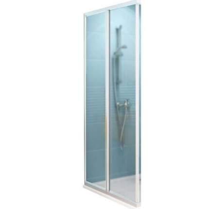 Душевая дверь Ravak SRV2-90 S Grape, профиль белый