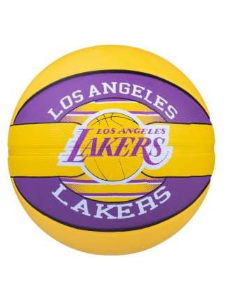 Spalding Мяч б/б  NBA TEAM LAKERS, размер 7, резина/83-510Z