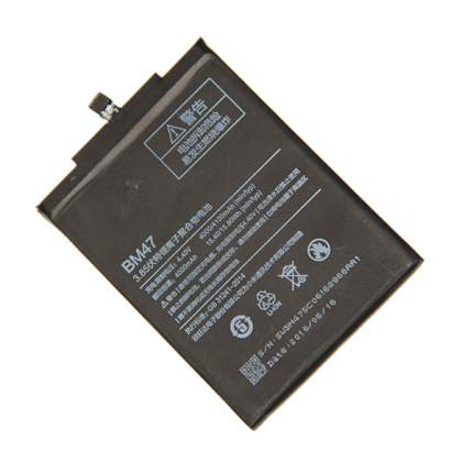 Аккумуляторная батарея для Xiaomi Redmi 3,3 Pro, 3s, 3X, 4X (BM47) 4100 mAh
