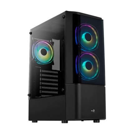 Корпус компьютерный Aerocool Quantum-G-BK-v1 Black