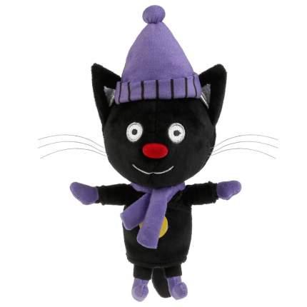 Мягкая игрушка Мульти-Пульти Три кота. Сажик, в зимней одежде, 12 см, муз. чип, V92747-12