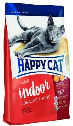 Сухой корм для кошек Happy Cat Fit & Well Indoor, для домашних, альпийская говядина, 10кг