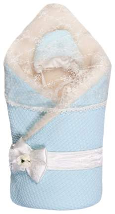 Конверт-одеяло Сонный Гномик Жемчужинка голубой