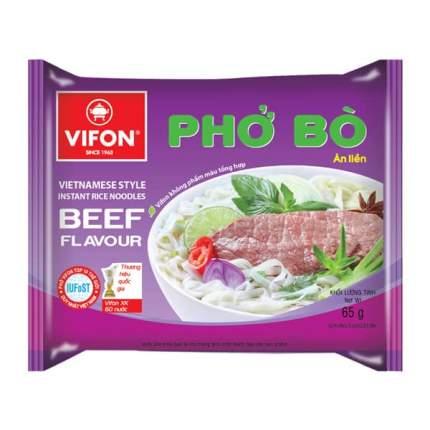 Лапша рисовая Vifon pho-bo со вкусом говядины 60 г